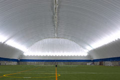 Inside Sports Dome Stock Photos