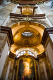 Inside of The St. Charles's Church Royalty Free Stock Photos