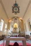 Inside of St. Dominic (Domingos) church. Largo do Senado in Macau Stock Image