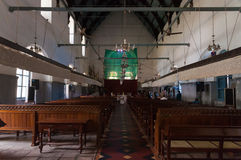 Inside of St. Francis Church in Fort Kochi stock photo