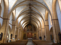Inside St. Gangolph Church in Trier, Germany Royalty Free Stock Images
