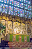 Inside St. George Chapel. Windsor Castle. UK Royalty Free Stock Photo