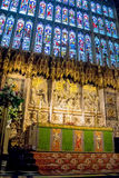 Inside St. George Chapel. Windsor Castle. UK Royalty Free Stock Photography