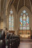 Inside St. James Cathedral in Toronto,Canada Royalty Free Stock Photography