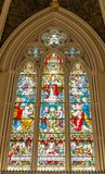 Inside St. James Cathedral in Toronto,Canada Royalty Free Stock Image