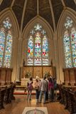 Inside St. James Cathedral in Toronto,Canada Stock Image
