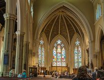 Inside St. James Cathedral in Toronto,Canada Stock Photo