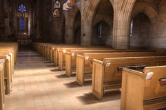 Inside St Johns church. Stock Photo