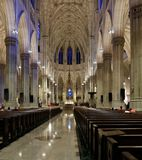 Inside St Patrick`s Cathedral Royalty Free Stock Images