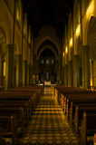 Inside the St Patrick's Cathedral Melbourne Stock Photography
