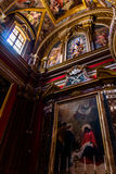 Inside St Paul Cathedral Stock Photo