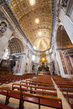 Inside St. Peter's Basilica Stock Image