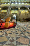 Inside of St Peter and St Pauls Cathedral at Pecs, Hungarry royalty free stock images