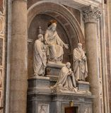 Inside St. Peters Basilica royalty free stock images