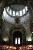 Inside St. Sophia Church. Harbin construction art museum, St. Sophia Church at night Stock Photo