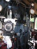 Inside a steam train Stock Photos