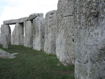 Inside Stonehenge Circle Royalty Free Stock Images