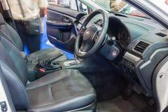 Inside Subaru XV Stock Photography