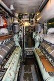 Inside submarine U 11. royalty free stock images