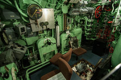 Inside the U-Boat Stock Images