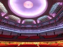 Guangzhou Sun Yat-sen Memorial Hall inside. Inside of Sun Yat-sen Memorial Hall in Guangzhou Stock Photo