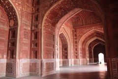 Inside Taj Mahal Hall Royalty Free Stock Photography