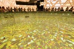 Inside Tajlandia pawilon 02, expo 2015 Mediolan Obraz Royalty Free