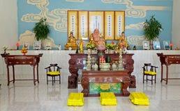 Inside of the Taoist temple Stock Photos