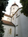 Inside Tartlau (Prejmer) medieval fortified church Stock Image