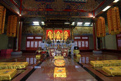Inside the temple Stock Images
