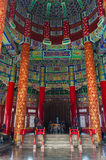 Inside the Temple of Heaven Stock Photo