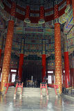 Inside the Temple of Heaven Stock Photography