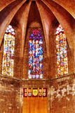 Inside in temple on top of Mount Tibidabo. Stock Photography