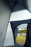 Inside tent Royalty Free Stock Image
