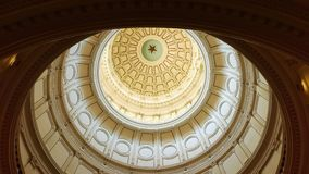 Texas State Capitol Rotunda Dome royalty free stock images