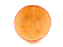 Inside Thai bamboo basket Stock Photo
