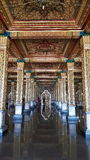 Inside thai temple Royalty Free Stock Photography