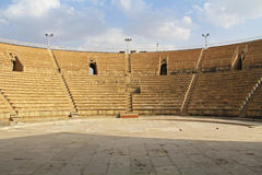 Free Inside The Amphitheater In Caesarea Maritima National Park Royalty Free Stock Images - 47759009