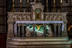 Free Inside The Basilica Of Notre-Dame Of Fourviere In Lyon, France, Europe Royalty Free Stock Image - 191147706
