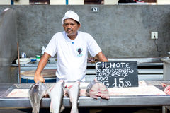 Inside The Famous Ver Peso Market In Belem Do Para, Brazil Stock Photography