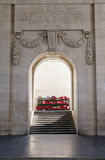 Inside The Menin Gate In Ypres Royalty Free Stock Photography