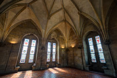 Inside The Powder Tower In Prague Royalty Free Stock Photos