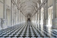 Inside The Royal House In Venaria Reale, Italy Stock Image
