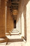 Inside The Temple Of Edfu. Egypt. Royalty Free Stock Images