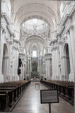 Inside of the Theatine Church (Theatinerkirche), Munich Royalty Free Stock Images