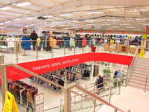 Inside a TK Max store. Stock Photo