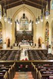Inside Toronto Metropolitan United Church Stock Photos