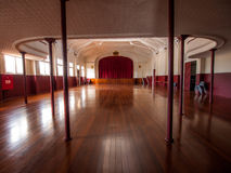 Inside the Town Hall, Heritage building in York, Western Australia Stock Image