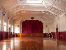 Inside the Town Hall, Heritage building in York, Western Australia Stock Images
