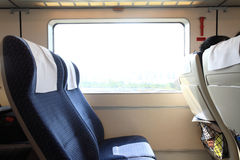 Inside of Train Royalty Free Stock Photos